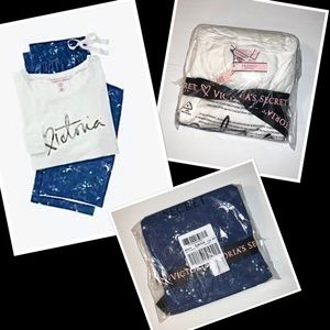 Victoria's Secret Flannel PJ's - Small